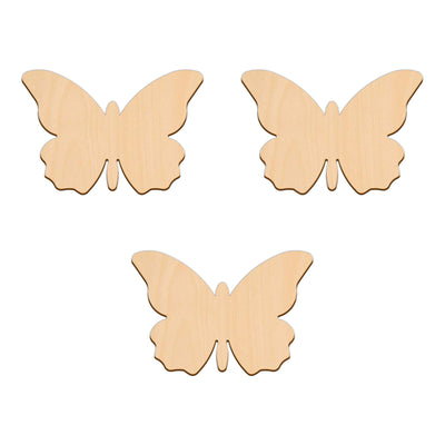 Butterfly C - 10cm x 6.8cm - Wooden Shapes
