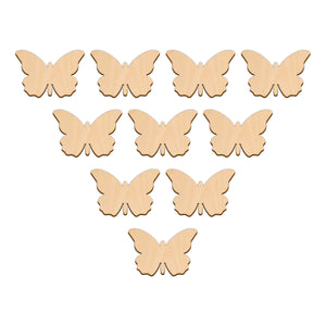 Butterfly C - 5cm x 3.4cm - Wooden Shapes