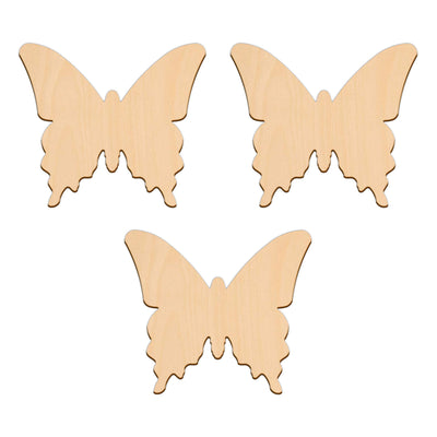 Butterfly D - 10cm x 8.7cm - Wooden Shapes