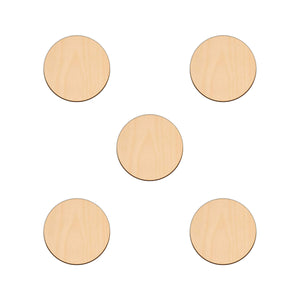Circle - 7.6cm - Wooden Shapes