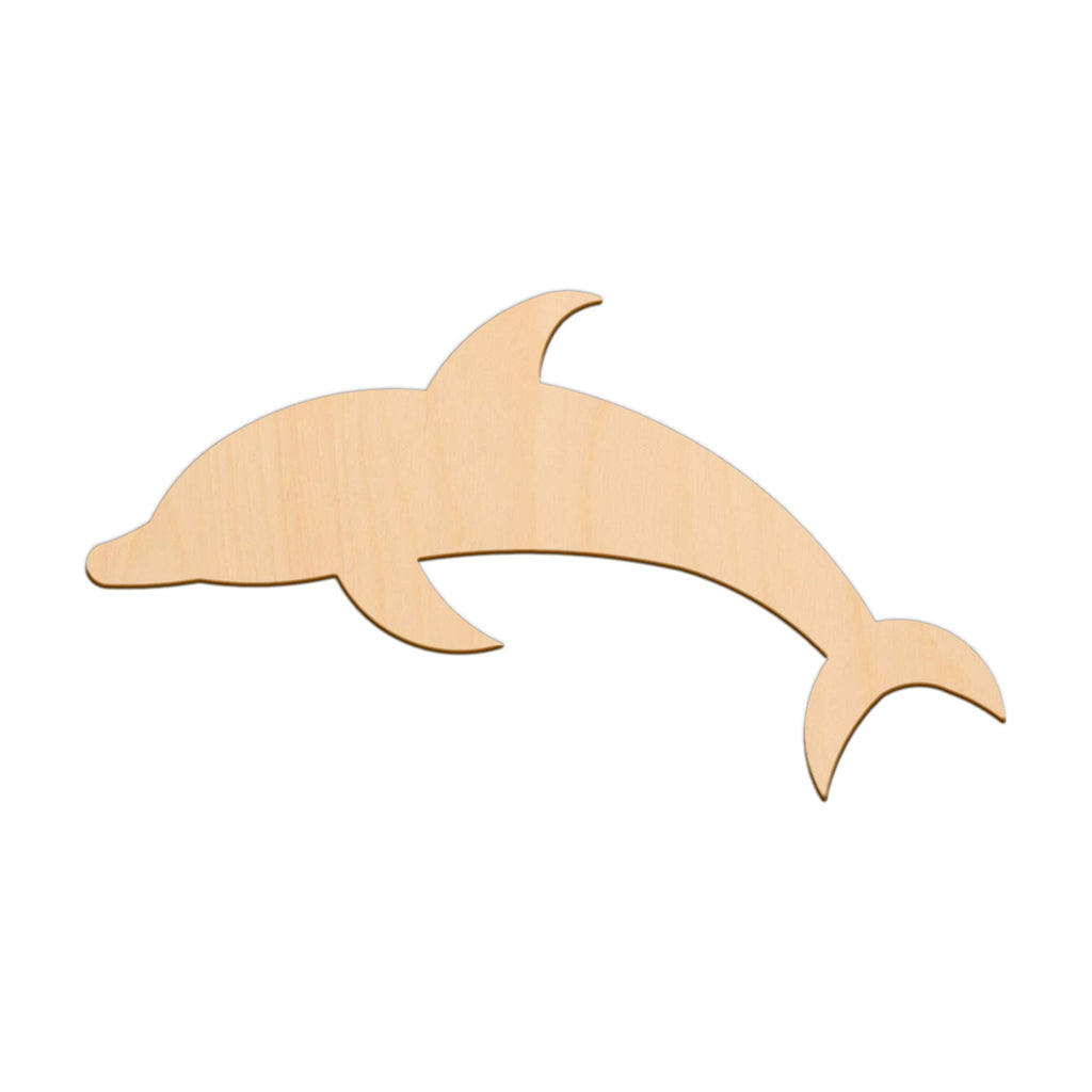 Dolphin - 25cm x 14cm - Wooden Shapes