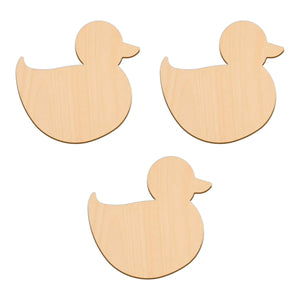 Duck - 10.1cm x 9.4cm - Wooden Shapes