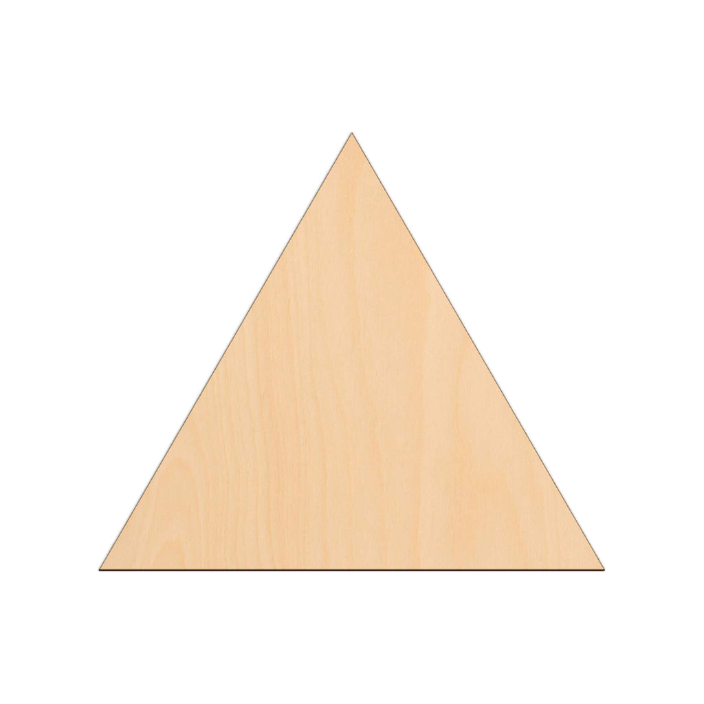 Equilateral Triangle - 25cm x 25cm - Wooden Shapes