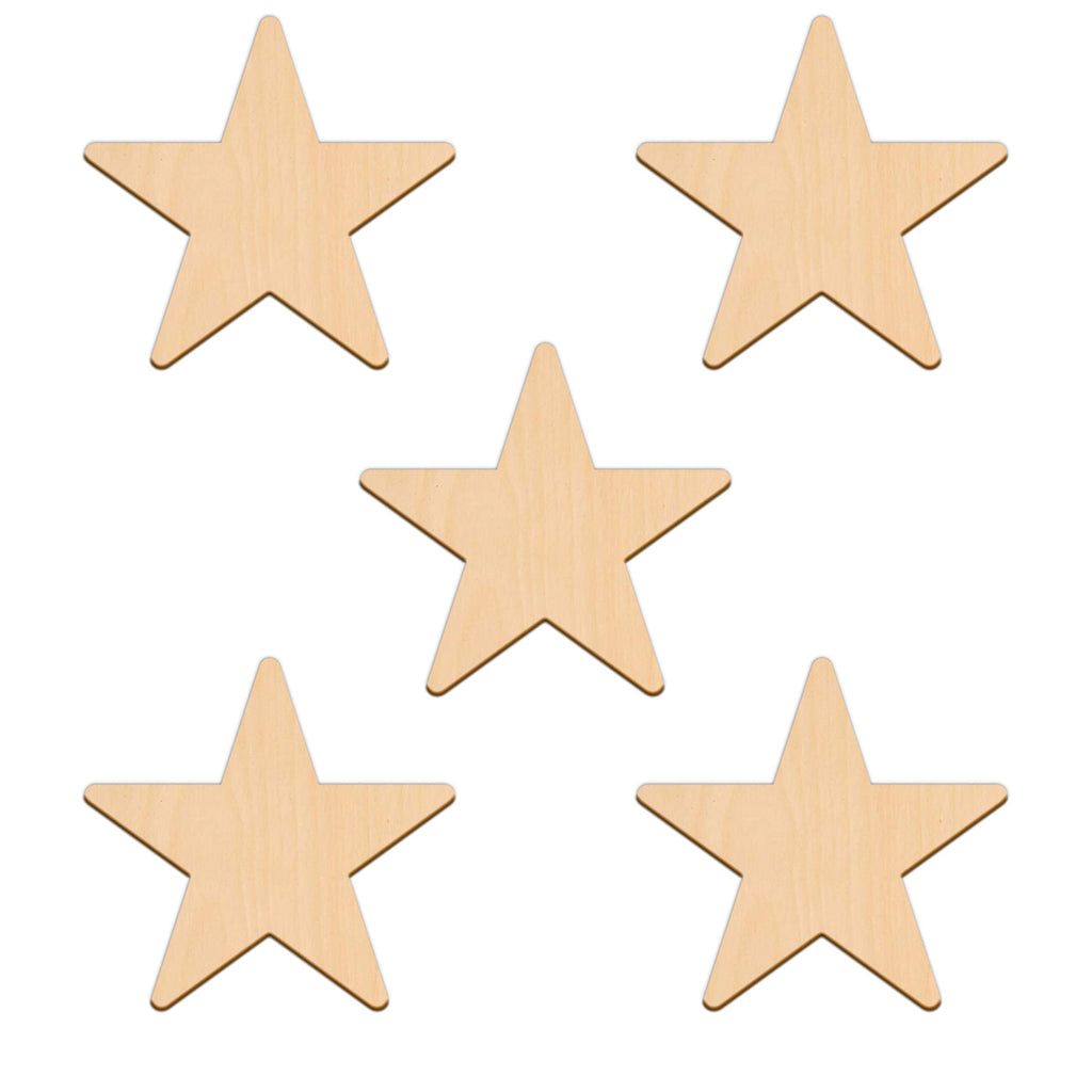 Five Point Star - 10.2cm x 10.2cm
