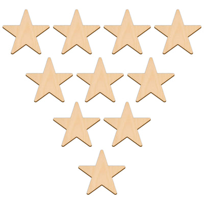 Five Point Star - 7.6cm x 7.6cm