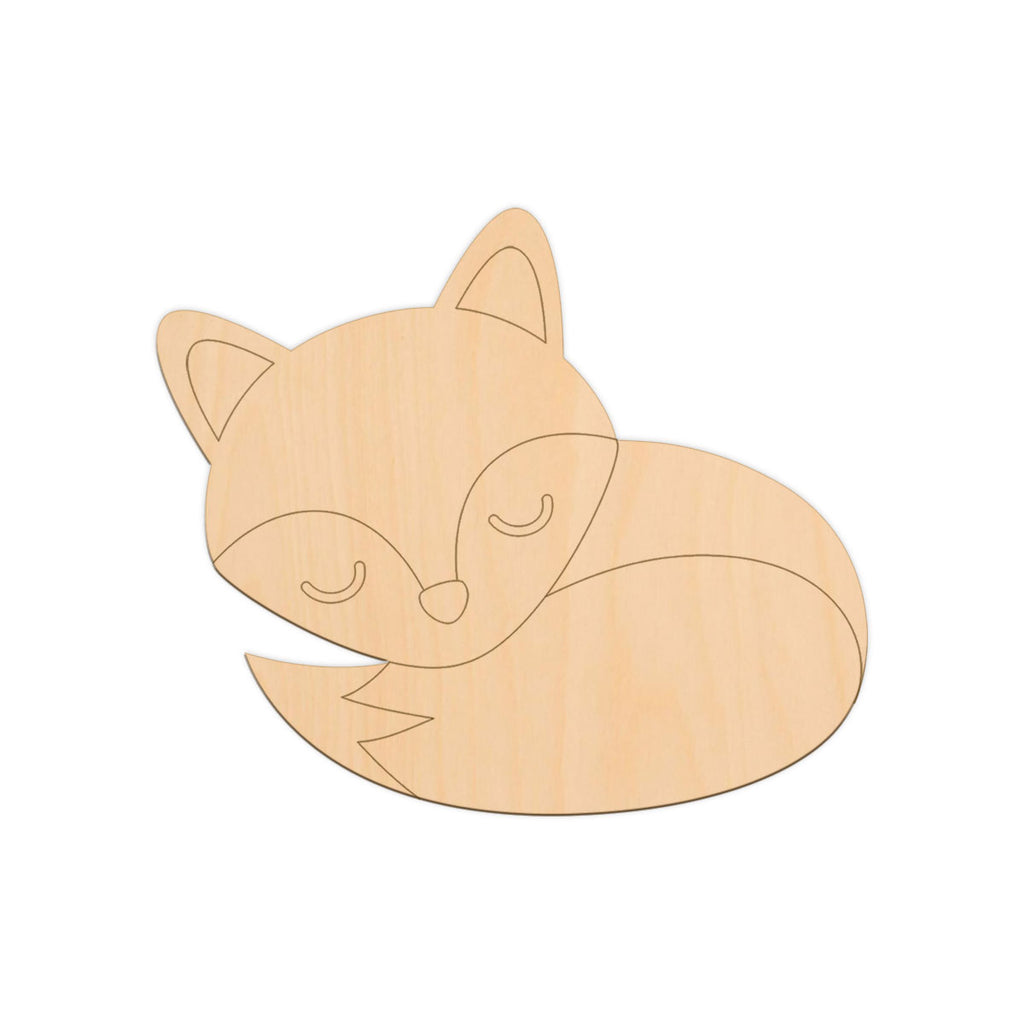 Fox (Sleeping) - 20cm x 17cm