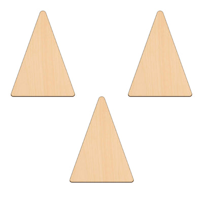 Isosceles Triangle - 11.1cm x 15cm - Wooden Shapes