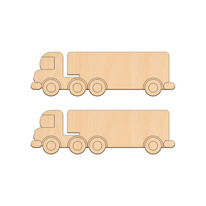 Lorry - 19.7cm x 6cm - Wooden Shapes