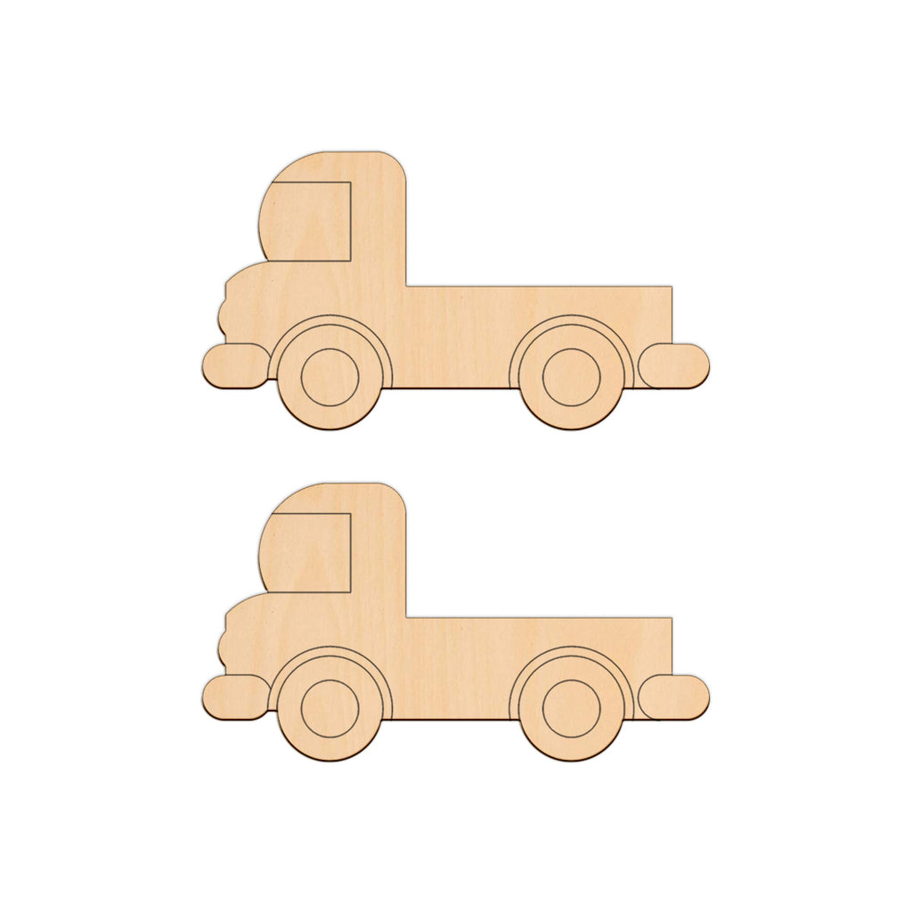 Pick Up Truck - 11cm x 6cm