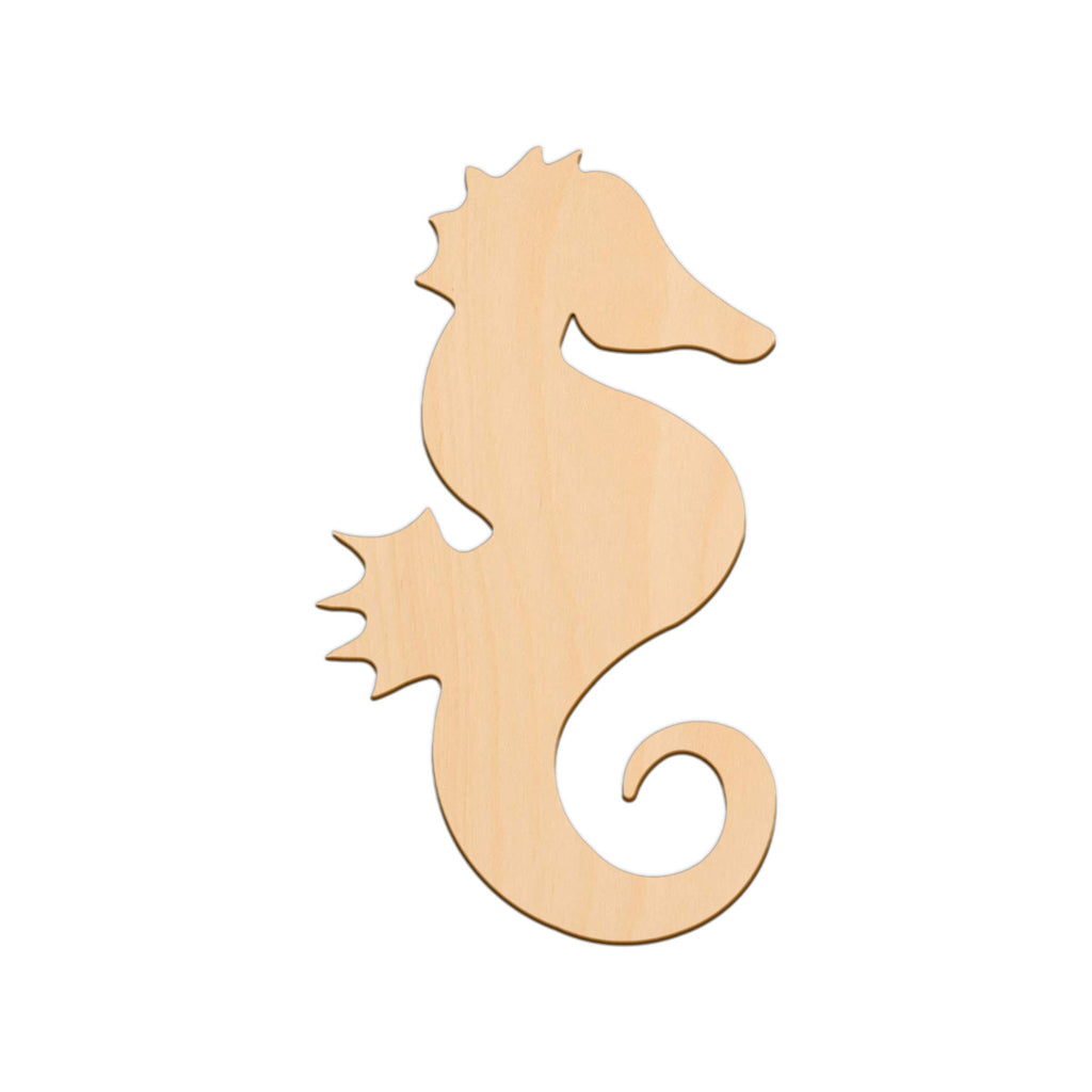 Seahorse (Style A) - 29cm x 17.8cm - Wooden Shapes