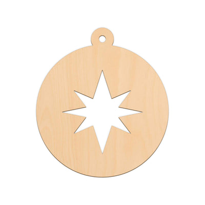 Star (Style A) Bauble - 20cm x 22.6cm