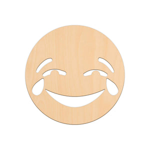 Tears Of Joy Face Emoji - 25cm x 25cm