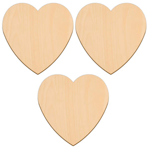 Valentines Heart - 15.2cm x 15.2cm - Wooden Shapes