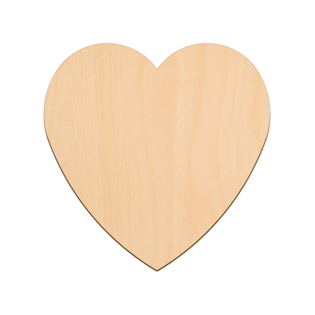 Valentines Heart - 22.2cm x 22.2cm - Wooden Shapes