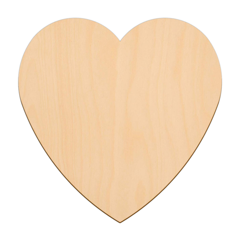 Valentines Heart - 30cm x 30cm - Wooden Shapes