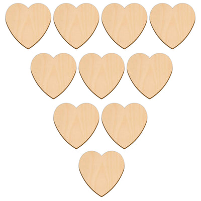 Valentines Heart - 7.6cm x 7.6cm - Wooden Shapes