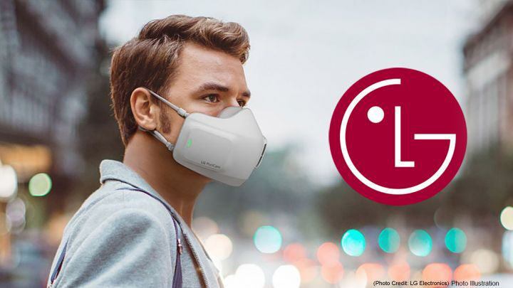 Ever heard of SMART MASK? LG to present new air-purifying smart mask.