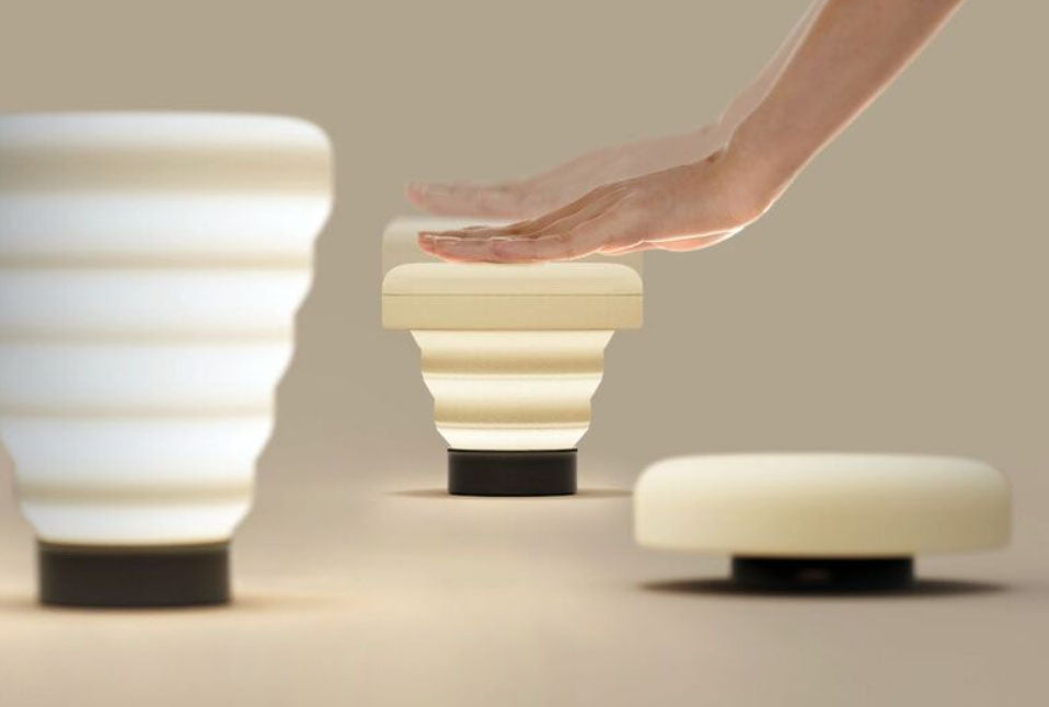 The Lamp that changes in brightness according to its Size