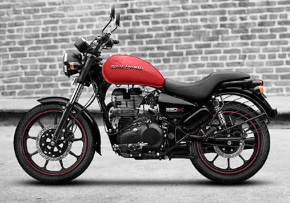 Royal Enfield Meteor 350 - Red