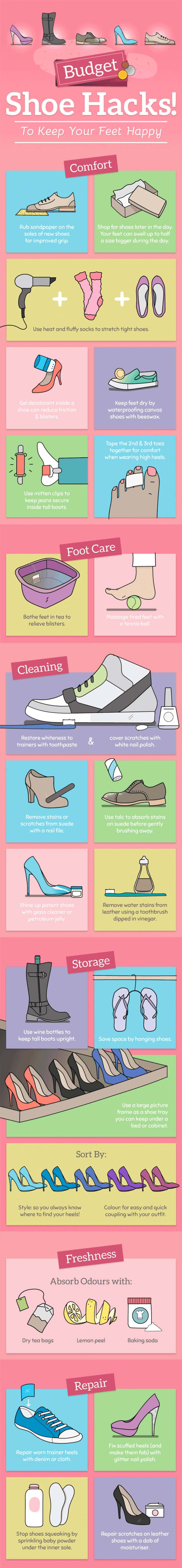 Shoe Hacks For Your Happy Feet