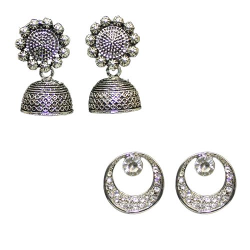 jhumka Stud Earrings combo