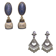 Dangle Meenakari Women's Fashion Earrings