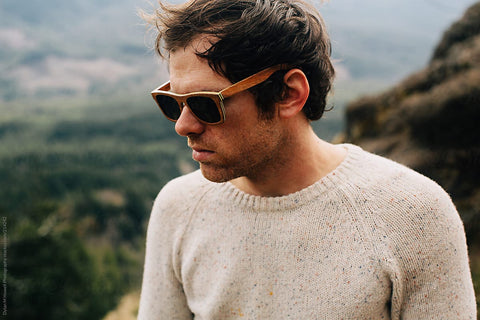 Winter Wooden Sunglasses