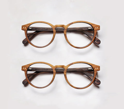 wooden glasses prescription