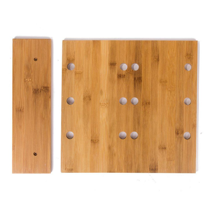 Branded Wooden Counter Top Display 6pc FreshforPandas