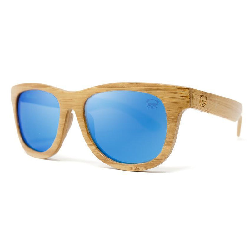 Premium Layered Wood Sunglasses with Bamboo Case Model: 2107 Sunglasses FreshForPandas