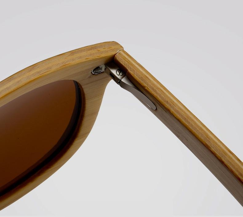 Premium Layered Wood Sunglasses with Bamboo Case Sunglasses FreshForPandas