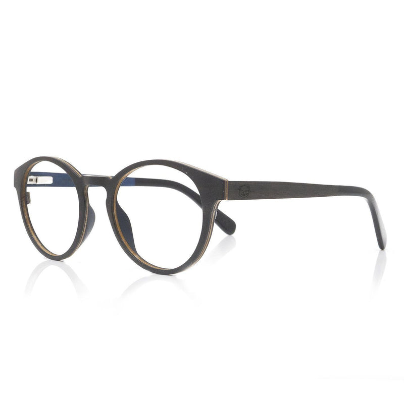 Layered Thin Wood Eyeglasses with Acetate Tips Model: P003 Eyeglasses FreshforPandas