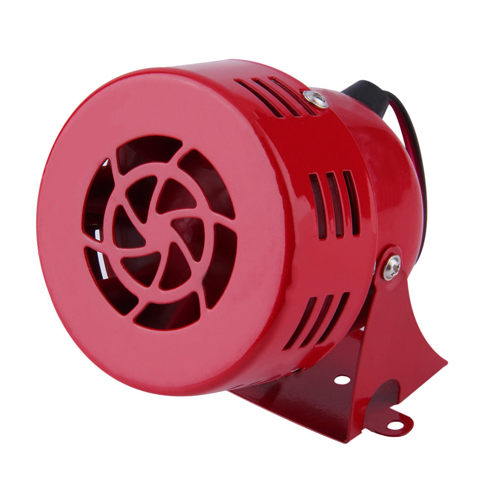 Universal Car Horns Speaker 12V Automotive Motorcycle Horns Air Raid Siren Horn Car Truck Motor Driven Alarm Red Free Shipping
