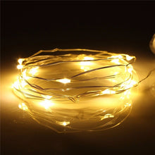 High Quality 2M 20 LED Silver Wire String Fairy Light Battery Powered Multicolor Light Party Wedding Decor Lamp Waterproof