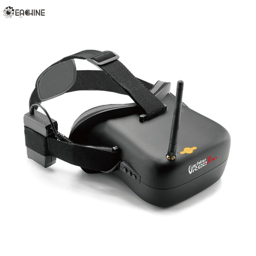 High Quality Eachine VR-007 Pro VR007 5.8G 40CH HD FPV Goggles 4.3 Inch Video Headset With 3.7V 1600mAh Battery For FPV Model