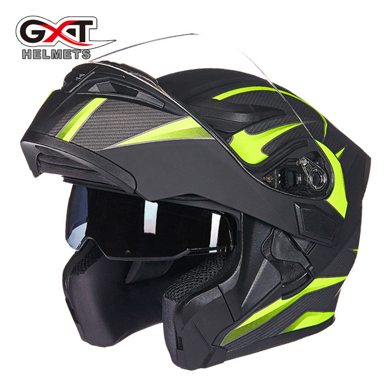 0d2a2ea4 ... Brand GXT Flip Up Motorcycle Helmet Double lens full face helmet High  quality DOT approved Moto ...