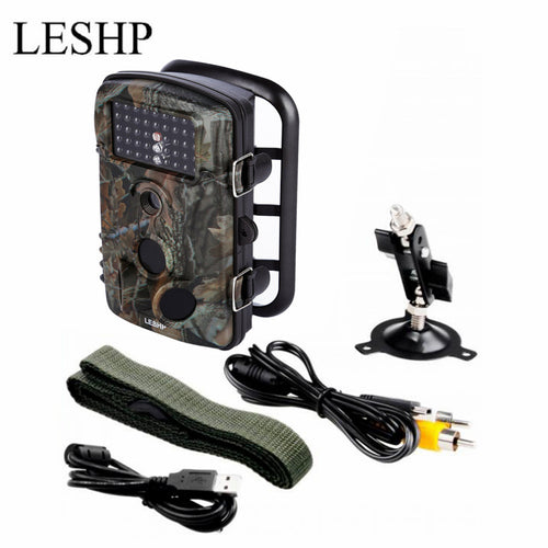 Game Trail Hunting Camera 12MP 1080P HD 120DGE Wide Angle Infrared Night Vision 42pcs IR LEDs 2.4inch LCD Screen Camera RD1000