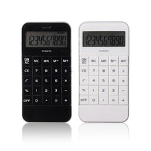 Mini 10 Digits Electronic Calculator Handheld Vest-pocket Student Calculator LCD Display Scientific Calculator Calculating Tool