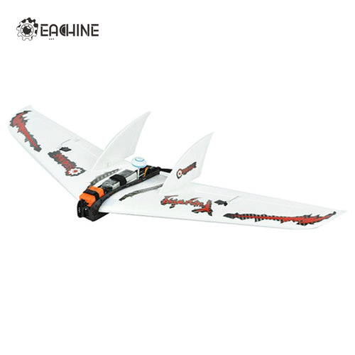 2017 New Arrival Eachine Fury Wing 1030mm Wingspan Carbon Fiber EPO FPV Racer Flying Wing RC Airplane KIT Plane Aircraft Toys