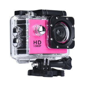 Mini 1080P Full HD DV Sports Recorder Trail Hunting Camera Waterproof Action Camcorder#