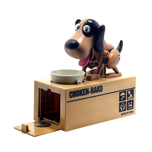 Robotic Dog Automatic Stole Coin Piggy Bank