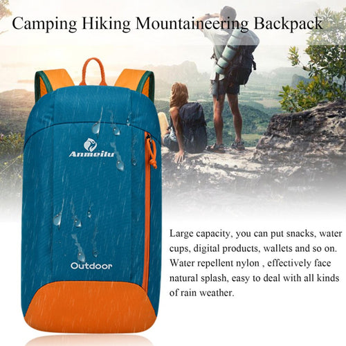 New Design 10L Capacity Men Women Sport Backpack Casual Outdoor Camping Hiking Mountaineering Backpack drop shipping