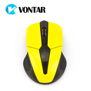 VONTAR Wireless Mouse 2.4G USB Optical Computer Gamer Mice 4 Buttons Gaming Mouse For PC Laptop Desktop 1600 for LOL Dota 2 play