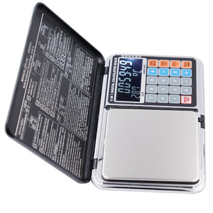 2016 newest Backlight LCD screen  Counting  pricing multifunction  0.01G/500g  jewelry  weight balance scales calculators