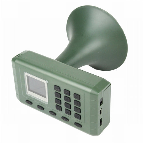 Hunting Decoy Bird Caller Birds Sound Lounspeaker Electronics Built-in Mp3 Player with Remote Control Timer Playing Airsoft