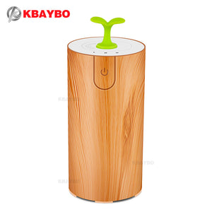 2017 Ultrasonic Aromatherapy Diffuser Wood Grain Ultrasonic Cool Mist Humidifier for Office Home Bedroom Living Room