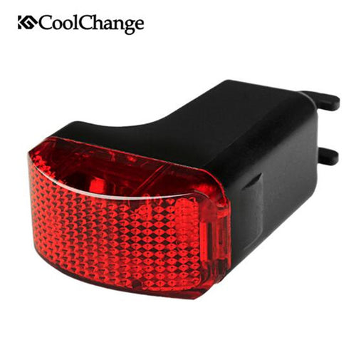 CoolChange Waterproof Self-Powered Bike Light Taillights MTB Bicycle Wireless Light Induction Cycling Night Warnning Rear Lights