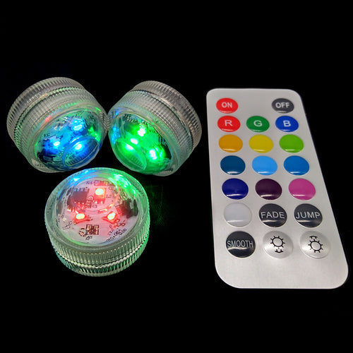 RGB Color Changing LED Light for Shisha Hookah Narguile Bar Decoration Accessories Festive Party Decoration With Remote Control
