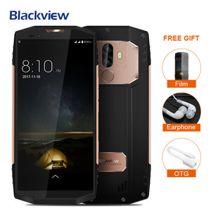 "Blackview BV9000 Smartphone 5.7""18:9 HD+Full Screen IP68 Waterproof 4GB+64GB Helio P25 Octa Core 4180mAh 13+5MP Mobile Cellphone"