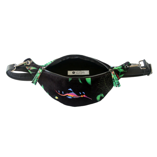 Small Velvet Fanny Pack